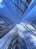 τέσσερις ουρανοξύστες απεικόνιση αποθεμάτων
