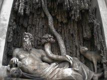 Τέσσερις πηγές, Ρώμη Στοκ φωτογραφία με δικαίωμα ελεύθερης χρήσης