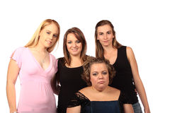τέσσερις φίλοι Στοκ Φωτογραφία
