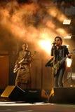Τέσσερις φορές ο νικητής Lenny Kravitz βραβείων Grammy που εκτελείται στις ΗΠΑ ανοίγει την τελετή βραδιάς των εγκαινίων του 2013 Στοκ Εικόνες
