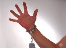 τέσσερις χειροπέδες Στοκ εικόνα με δικαίωμα ελεύθερης χρήσης
