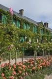 Τέταρτα διαβίωσης Monet σε Giverny Στοκ Εικόνες