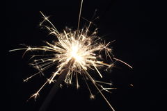 Τέταρτο της Sparklerης Ιουλίου Στοκ Εικόνες