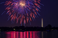 Τέταρτο του Ιουλίου στην Ουάσιγκτον DC Στοκ Εικόνες