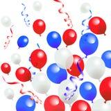 Τέταρτο των μπαλονιών Ιουλίου Στοκ εικόνες με δικαίωμα ελεύθερης χρήσης