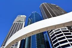 Τέταρτο όχθεων ποταμού του Μπρίσμπαν - μικρή Σιγκαπούρη Στοκ Φωτογραφίες