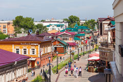 130 τέταρτο Kvartal, Ιρκούτσκ Στοκ Φωτογραφίες
