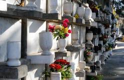 Τέφρες δοχείων νεκροταφείων στοκ φωτογραφίες
