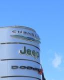 Τέχνασμα τζιπ Chrysler Στοκ φωτογραφίες με δικαίωμα ελεύθερης χρήσης