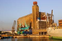 Τέχνες γκράφιτι της Βαρκελώνης Στοκ εικόνα με δικαίωμα ελεύθερης χρήσης