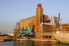 Τέχνες γκράφιτι της Βαρκελώνης Στοκ Φωτογραφία