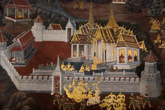 τέχνες λεπτή Ταϊλάνδη Στοκ εικόνα με δικαίωμα ελεύθερης χρήσης
