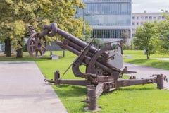 Τέχνες πυροβόλων Στοκ εικόνες με δικαίωμα ελεύθερης χρήσης