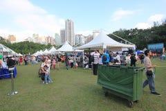 2015 τέχνες της Mardi Gras Χονγκ Κονγκ στο γεγονός πάρκων Στοκ εικόνες με δικαίωμα ελεύθερης χρήσης