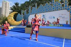 2015 τέχνες της Mardi Gras Χονγκ Κονγκ στο γεγονός πάρκων Στοκ εικόνα με δικαίωμα ελεύθερης χρήσης
