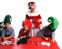 τέχνες Χριστουγέννων Στοκ φωτογραφία με δικαίωμα ελεύθερης χρήσης