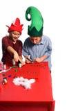 τέχνες Χριστουγέννων Στοκ Φωτογραφία