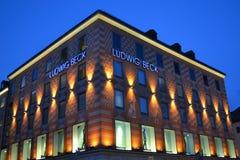 Τέχνες Arhitecture Στοκ εικόνα με δικαίωμα ελεύθερης χρήσης