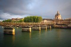 τέχνες des Παρίσι pont Στοκ Φωτογραφίες