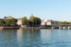 τέχνες des Παρίσι pont Στοκ Εικόνα