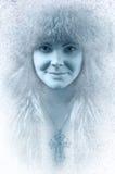 τέχνης ομορφιάς τέλειος χειμώνας makeup μόδας υψηλός βασικός Στοκ εικόνα με δικαίωμα ελεύθερης χρήσης