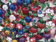 Τέχνη, ένα σύνολο χελωνών στοκ εικόνες