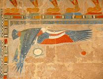 τέχνη Αιγύπτιος Στοκ εικόνες με δικαίωμα ελεύθερης χρήσης