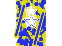 Τέχνη απεικόνισης αστεριών Στοκ φωτογραφία με δικαίωμα ελεύθερης χρήσης