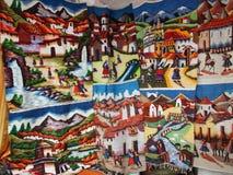 τέχνη από το Εκουαδόρ στοκ εικόνες