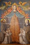 Τέχνη από Assisi, Ουμβρία, Ιταλία Στοκ Φωτογραφίες