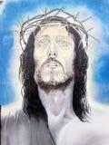 τέχνη αστική ψηφιακή απεικόνιση Ιησούς Χριστού nazareth αρχικός Στοκ εικόνες με δικαίωμα ελεύθερης χρήσης