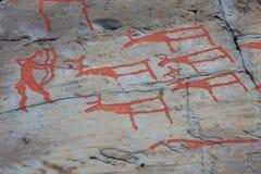 Τέχνη βράχου της Alta Στοκ Φωτογραφία
