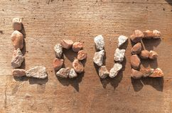 Τέχνη βράχου Στοκ φωτογραφίες με δικαίωμα ελεύθερης χρήσης