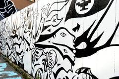 Τέχνη γκράφιτι στο Σαν Φρανσίσκο, Καλιφόρνια Στοκ φωτογραφίες με δικαίωμα ελεύθερης χρήσης