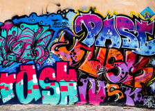 Τέχνη γκράφιτι Στοκ εικόνα με δικαίωμα ελεύθερης χρήσης