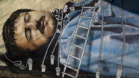 Τέχνη γκράφιτι Στοκ εικόνες με δικαίωμα ελεύθερης χρήσης