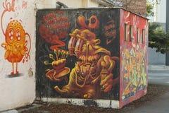 Τέχνη γκράφιτι Στοκ φωτογραφία με δικαίωμα ελεύθερης χρήσης