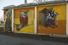 Τέχνη γκράφιτι Στοκ Εικόνα