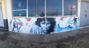 Τέχνη γκράφιτι Tijuana Στοκ Φωτογραφίες