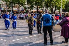 Τέχνη εβδομάδας συνειδητοποίησης ανικανότητας και λαϊκό γεγονός χορού - Τουρκία Στοκ φωτογραφίες με δικαίωμα ελεύθερης χρήσης