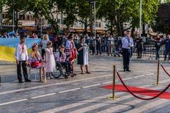 Τέχνη εβδομάδας συνειδητοποίησης ανικανότητας και λαϊκό γεγονός χορού - Τουρκία Στοκ Εικόνα