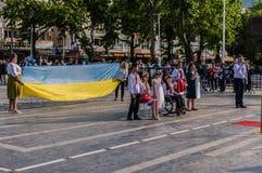 Τέχνη εβδομάδας συνειδητοποίησης ανικανότητας και λαϊκό γεγονός χορού - Τουρκία Στοκ Φωτογραφία
