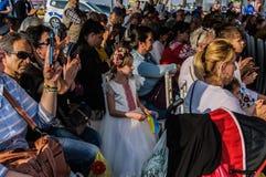 Τέχνη εβδομάδας συνειδητοποίησης ανικανότητας και λαϊκό γεγονός χορού - Τουρκία Στοκ φωτογραφία με δικαίωμα ελεύθερης χρήσης
