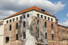 Τέχνη και γκράφιτι οδών στο Βερολίνο, Γερμανία Στοκ Φωτογραφίες