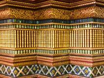 Τέχνη και διακόσμηση στο ναό Στοκ φωτογραφία με δικαίωμα ελεύθερης χρήσης