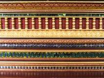 Τέχνη και διακόσμηση στο ναό Στοκ Φωτογραφίες