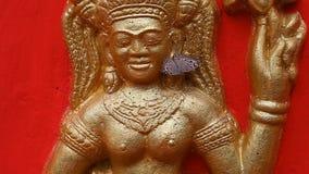 Τέχνη και πολιτισμός θρησκείας της Καμπότζης βουδισμού απόθεμα βίντεο