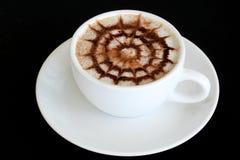 Τέχνη/καφές Latte στοκ εικόνες