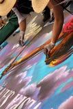 Τέχνη κιμωλίας Στοκ Εικόνες