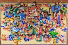 Τέχνη κινέζικα Στοκ φωτογραφία με δικαίωμα ελεύθερης χρήσης